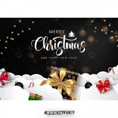 وکتور هدیه و بمب شادی کریسمس طراحی اسرار آمیز