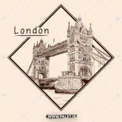 دانلود مجموعه وکتور لایه باز شهر تاریخی لندن