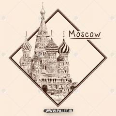 دانلود وکتور مجموعه شهر مسکو