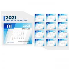 دانلود طرح لایه باز تقویم سال 2021