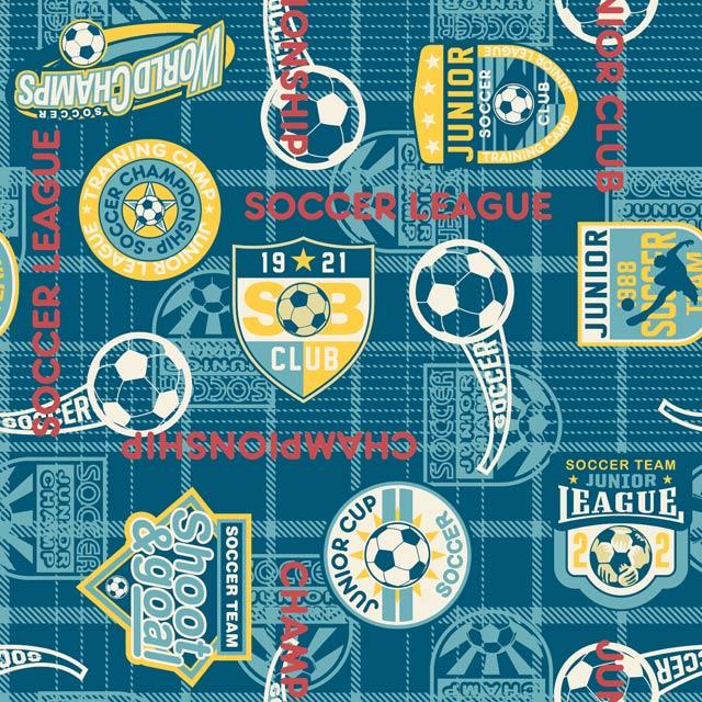 طرح چاپ روی تیشرت فوتبالی ابی