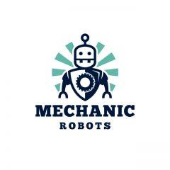 دانلود لوگو ربات مکانیک