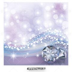 وکتور الماس سفید با پس زمینه نورانی