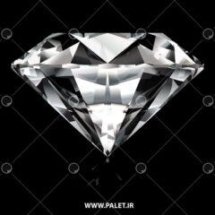 وکتور الماس سفید و مشکی خاص