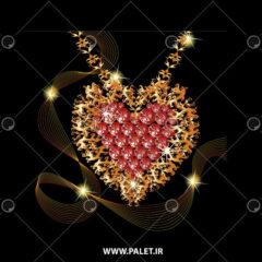 وکتور کارتونی جواهر و الماس