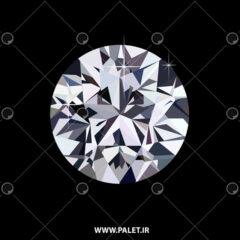 وکتور طرح الماس از بالا برای فتوشاپ