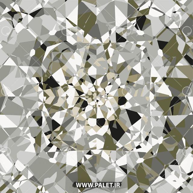 وکتور طرح الماس خام برای فتوشاپ