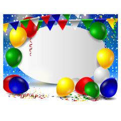 طرح پس زمینه تبریک جشن تولد شاد