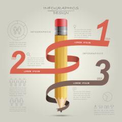 طرح لایه باز اینفوگرافیک ایده های جدید