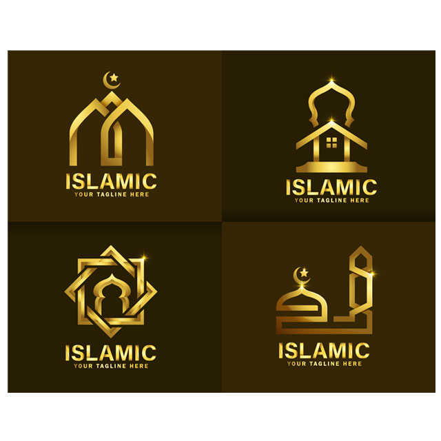 وکتور اسلیمی طرح لوگو مذهبی