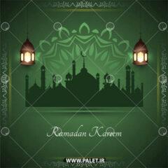 دانلود وکتور رمضان کریم 1400