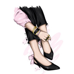 طرح بوتیک کفش و لباس زنانه