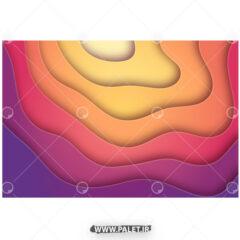 وکتور پس زمینه رنگارنگ گرم