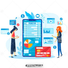 وکتور خرید اینترنتی با کارت بانکی