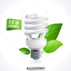 وکتور لامپ کم مصرف و حفظ محیط زیست
