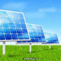 وکتور تبدیل انرژی خورشیدی