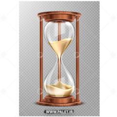 وکتور کاراکتر ساعت شنی زیبا