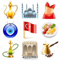 وکتور لوگو ترکیه ای و طرح های زیبا