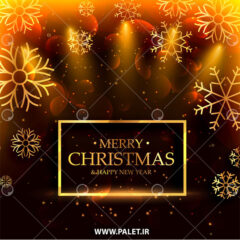 وکتور پس زمینه تبریک کریسمس 2021