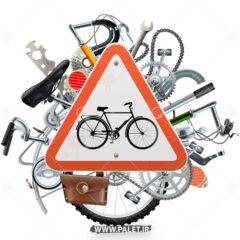 وکتور طرح تعمیرگاه دوچرخه لاکچری
