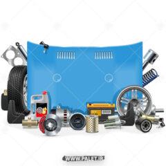 طرح گرافیکی برای تعمیرگاه خودرو