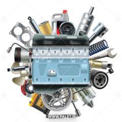 وکتور موتور و لوازم خودرو