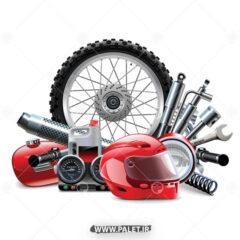 وکتور تعمیرگاه موتور سیکلت