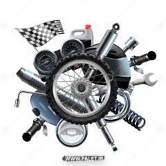 وکتور لوازم یدکی موتور سیکلت
