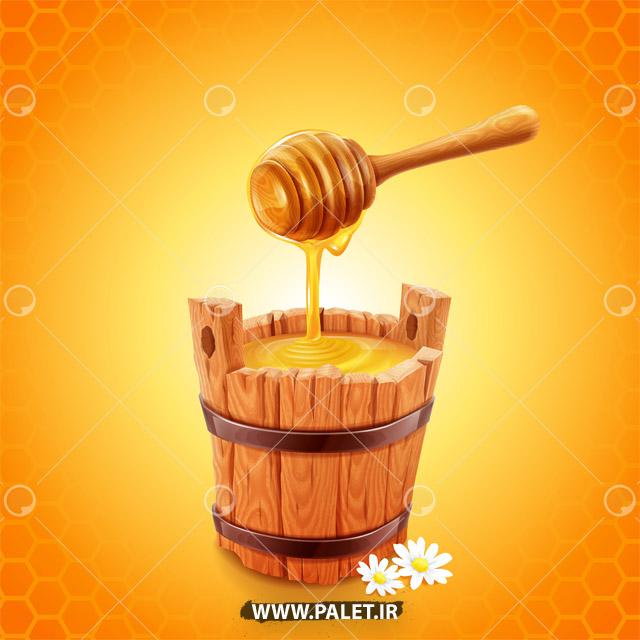 وکتور عسل گیری طبیعی