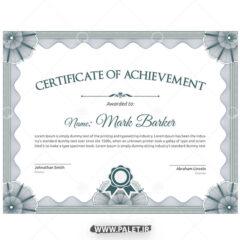دانلود وکتور گواهینامه مهندسی