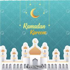 دانلود پس زمینه لایه باز رمضان کریم