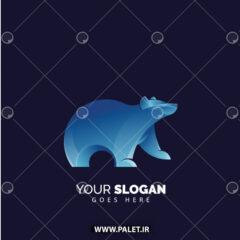 دانلود لوگو خرس جنگلی گرافیکی