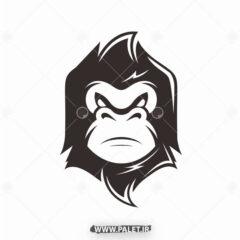 دانلود لوگو میمون وحشی مشکی