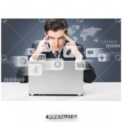 دانلود عکس تبلیغاتی کسب و کار مجازی