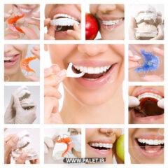 تصاویر استوک بهداشت دندان سفید