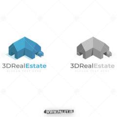 دانلود لوگو سه بعدی خانه