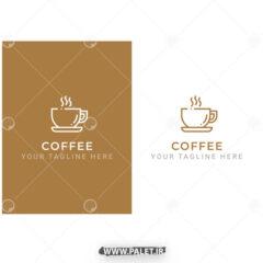 دانلود لوگو لایه باز فنجان قهوه