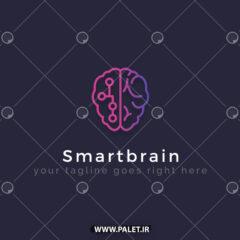 دانلود لوگو هوش مصنوعی طرح مغز