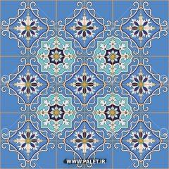 دانلود وکتور کاشی طرح مراکشی اصل
