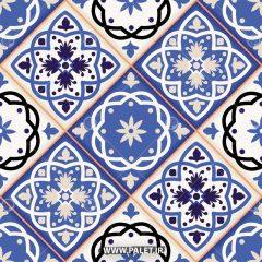 دانلود وکتور کاشی مراکشی سنتی