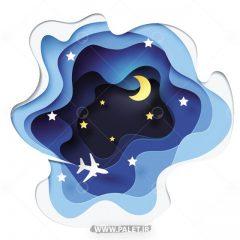 دانلود طرح کارتونی شب مهتابی