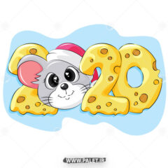 دانلود وکتور موش و پنیر 2020
