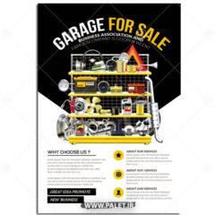 دانلود تراکت فروشگاه قطعات خودرو