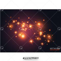 دانلود وکتور نور های شبکه ای جذاب