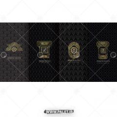 دانلود بروشور لاکچری با طرح طلایی