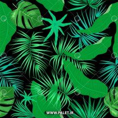 دانلود طرح پس زمینه با گلبرگ های سبز