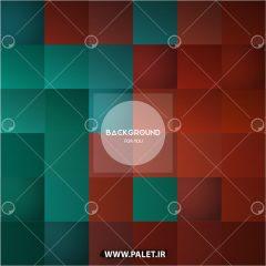 دانلود وکتور پس زمینه مربع سبز و قرمز