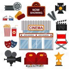 طرح لایه باز سینما و اجزای مختلف آن